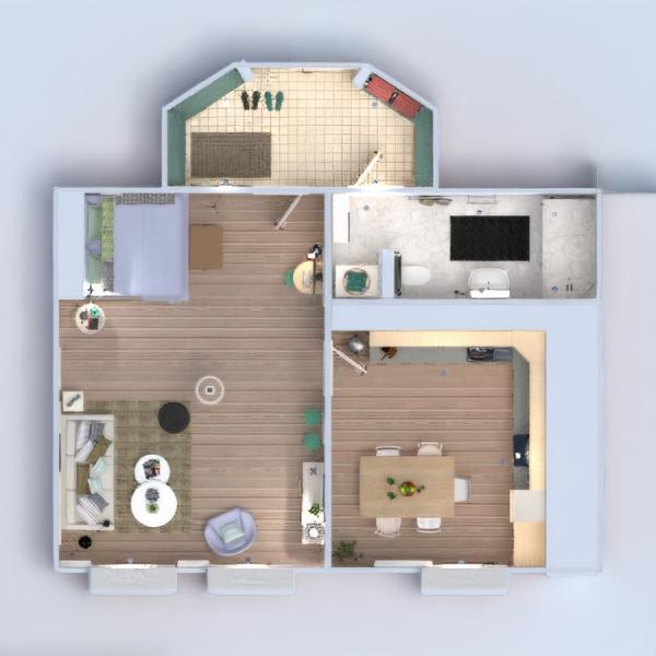 floorplans apartment furniture decor diy bathroom living room kitchen 3d