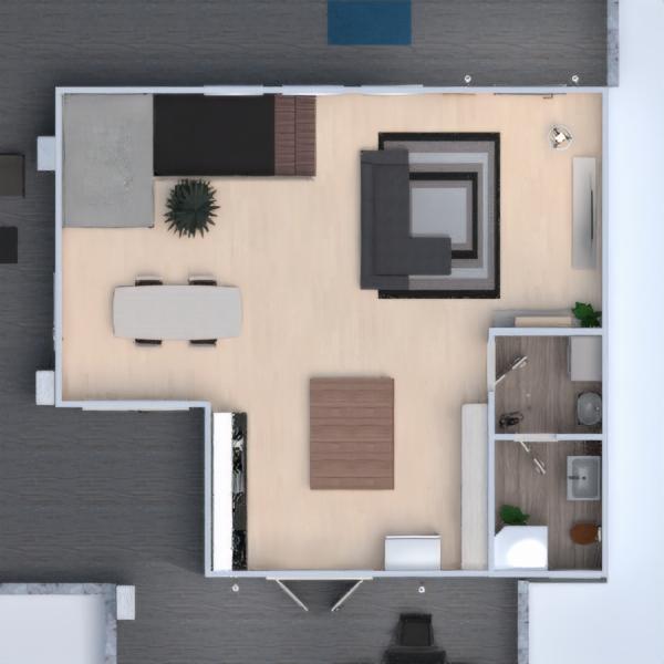 floorplans mieszkanie dom meble wystrój wnętrz oświetlenie 3d