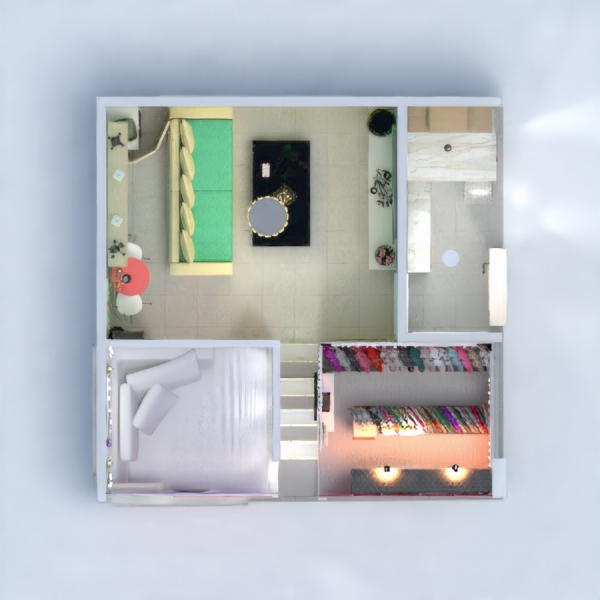 floorplans apartment renovation 3d