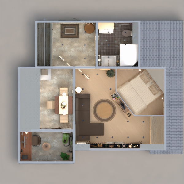 floorplans apartment furniture decor diy bathroom bedroom living room kitchen office lighting renovation household storage studio entryway 3d