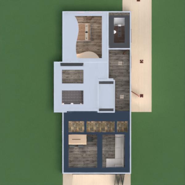 floorplans apartamento casa varanda inferior mobílias decoração faça você mesmo casa de banho dormitório quarto cozinha área externa escritório iluminação reforma utensílios domésticos sala de jantar arquitetura despensa estúdio patamar 3d
