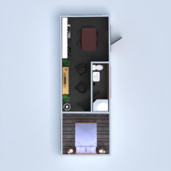 floorplans cocina habitación infantil 3d