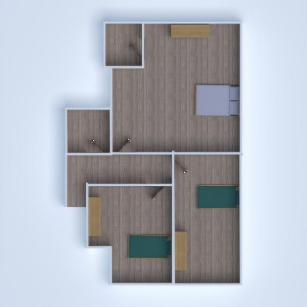 floorplans casa de banho quarto quarto infantil escritório 3d