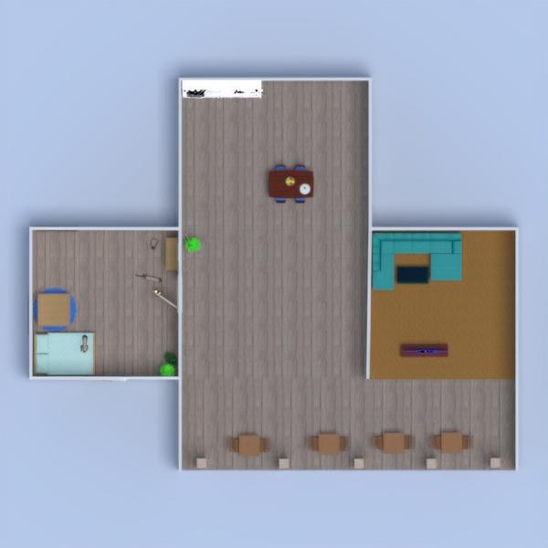 floorplans terrace decor bedroom living room landscape 3d