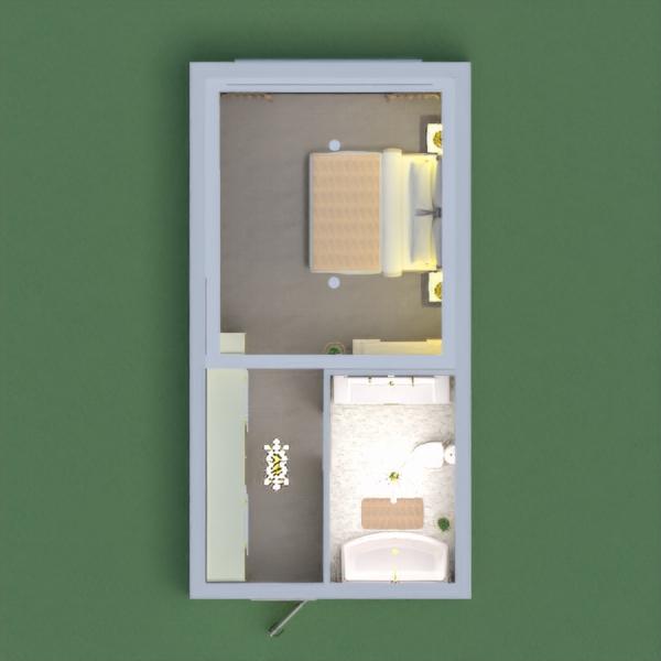floorplans casa de banho dormitório 3d