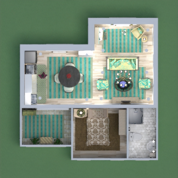 floorplans appartement maison décoration 3d