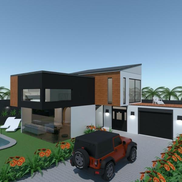 progetti appartamento saggiorno oggetti esterni architettura vano scale 3d