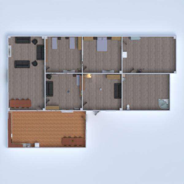 floorplans studija prieškambaris 3d