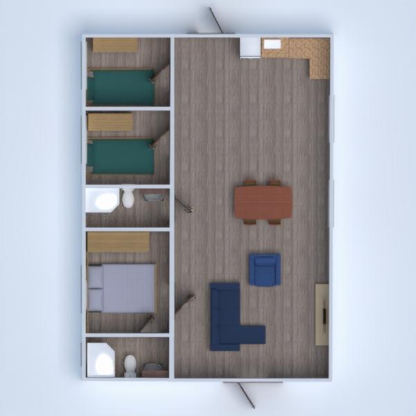 floorplans appartement maison 3d