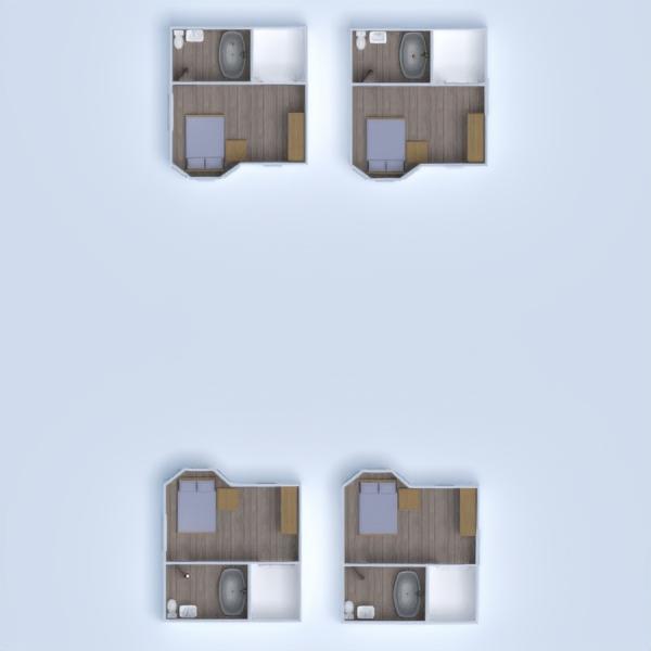 planos apartamento terraza estudio 3d