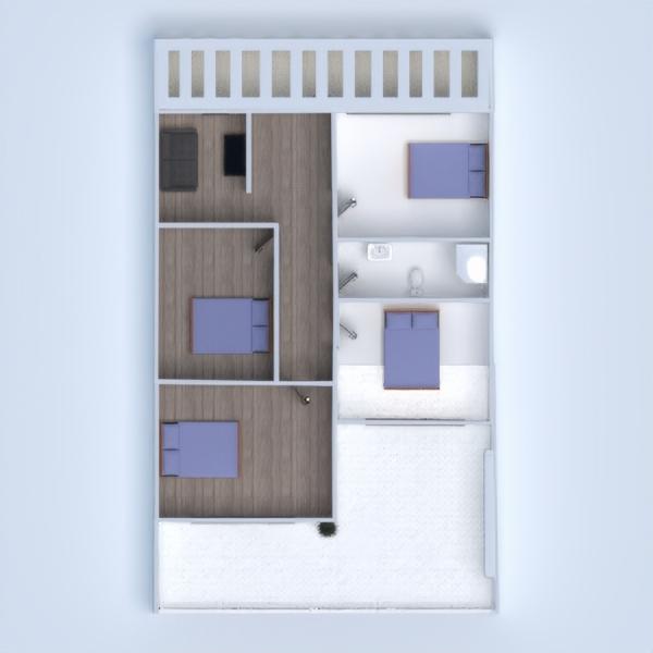 floorplans namas terasa baldai eksterjeras аrchitektūra 3d