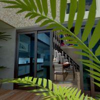floorplans house terrace furniture outdoor lighting architecture 3d