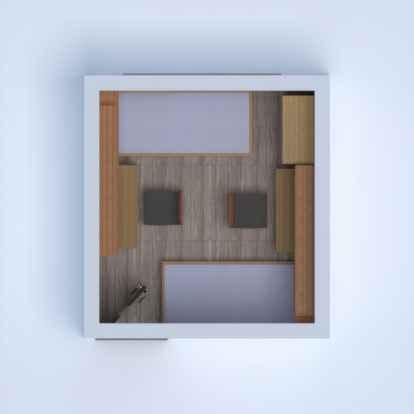 floorplans apartment kids room 3d