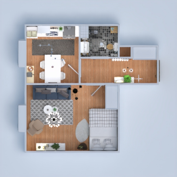 floorplans appartement meubles décoration diy 3d