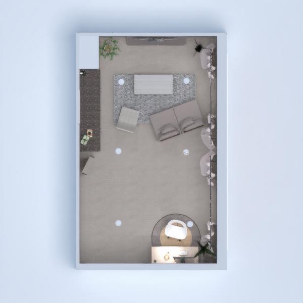 floorplans muebles salón despacho 3d
