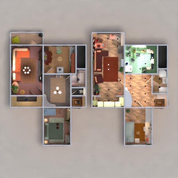 floorplans wohnung mobiliar dekor do-it-yourself wohnzimmer kinderzimmer beleuchtung renovierung lagerraum, abstellraum eingang 3d