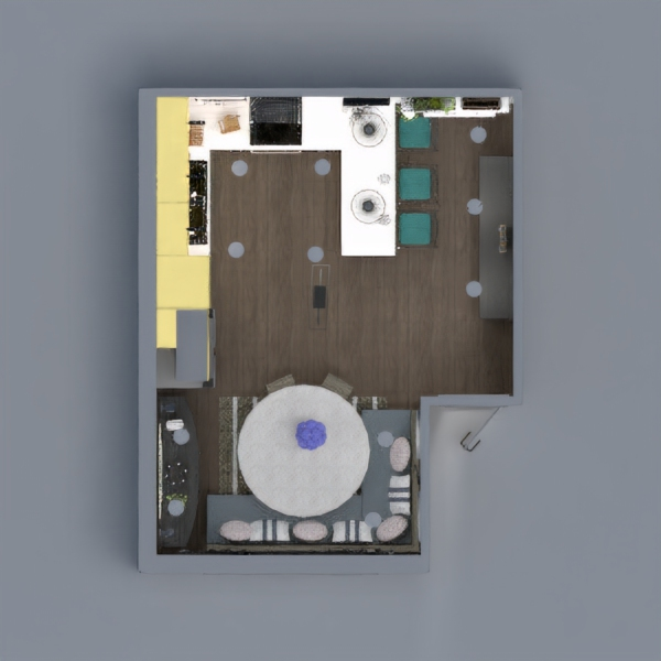floorplans cucina 3d