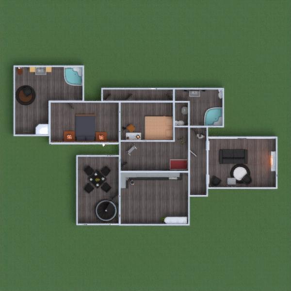 floorplans casa muebles decoración cuarto de baño dormitorio salón cocina habitación infantil despacho hogar comedor 3d