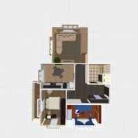 floorplans apartment bathroom bedroom living room kitchen kids room 3d