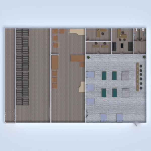 floorplans arredamento architettura monolocale 3d
