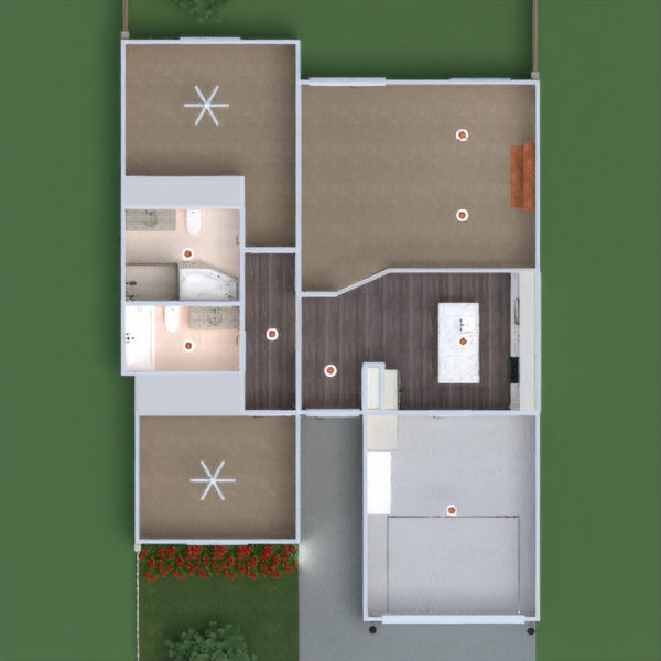 floorplans dormitorio cocina exterior habitación infantil despacho 3d