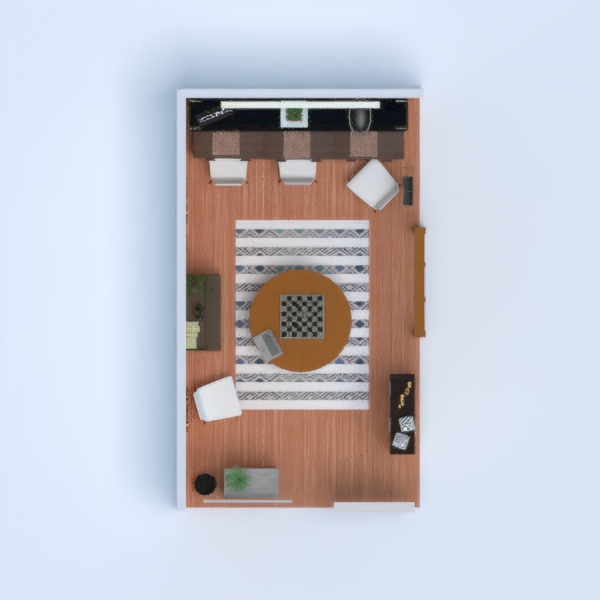 floorplans decoración habitación infantil despacho hogar 3d