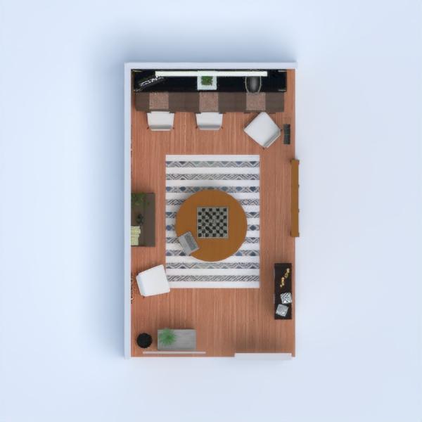 floorplans decoração quarto infantil escritório utensílios domésticos 3d