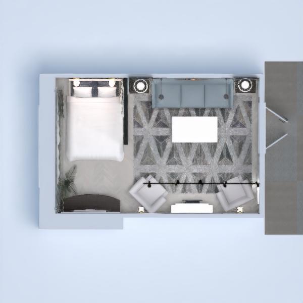floorplans bedroom living room renovation 3d