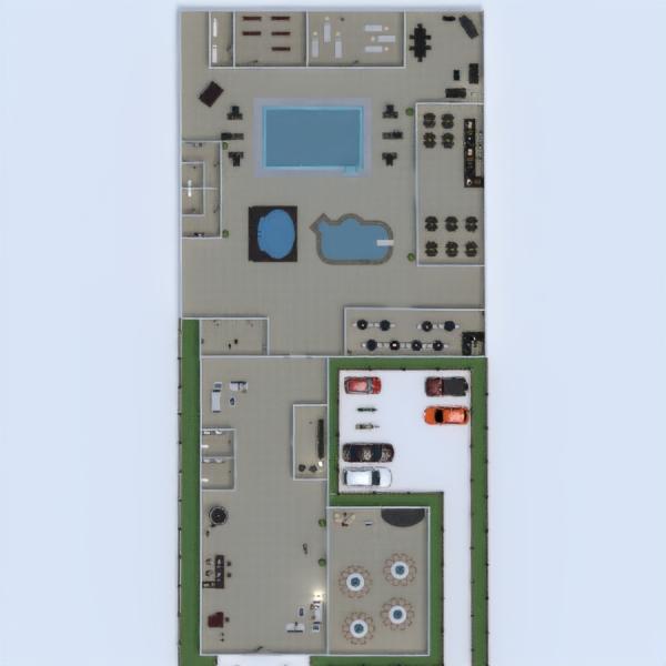 floorplans дом ландшафтный дизайн кафе архитектура 3d