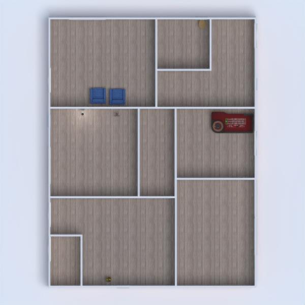 floorplans maison meubles chambre d'enfant maison salle à manger 3d