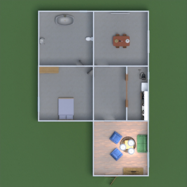floorplans meble oświetlenie 3d