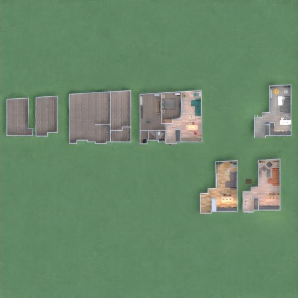 floorplans butas svetainė virtuvė renovacija valgomasis 3d