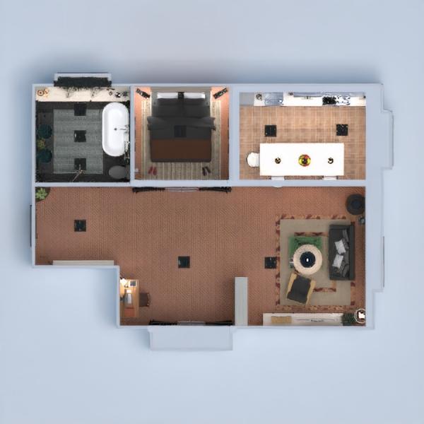 floorplans appartamento arredamento decorazioni angolo fai-da-te bagno camera da letto cucina 3d