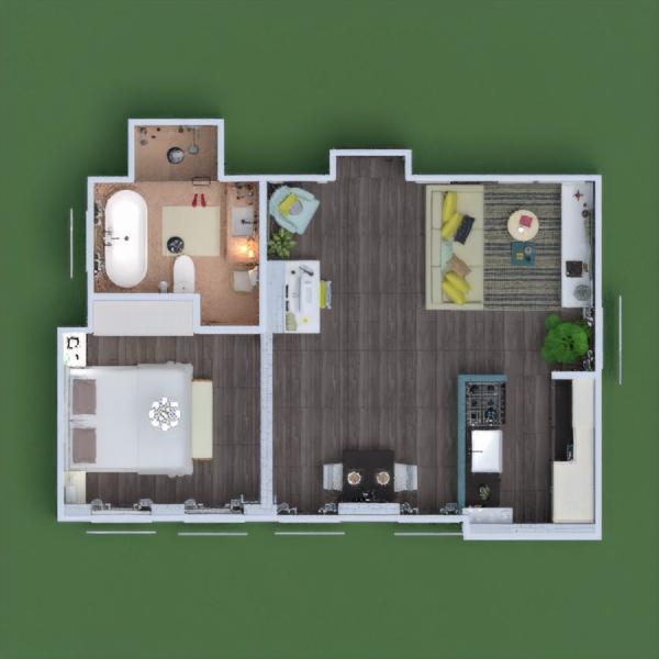floorplans butas baldai dekoras pasidaryk pats vonia miegamasis virtuvė biuras apšvietimas kraštovaizdis namų apyvoka kavinė valgomasis аrchitektūra sandėliukas 3d