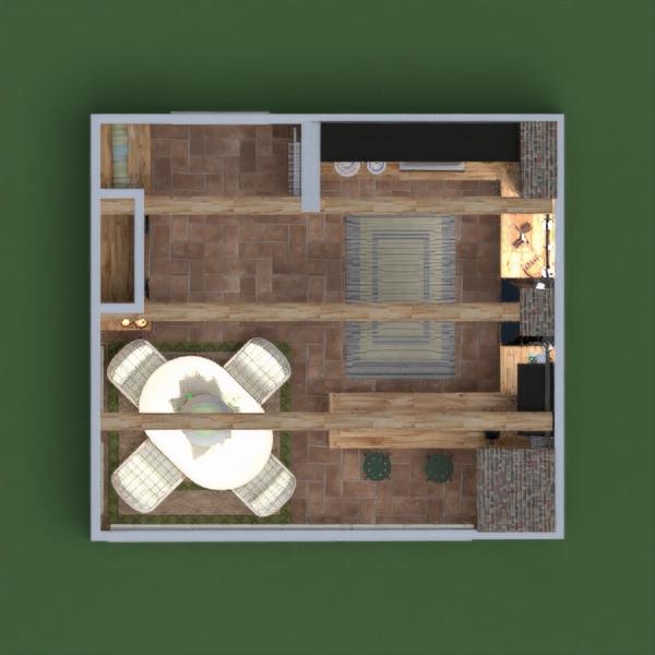 floorplans дом мебель гостиная кухня освещение ремонт столовая 3d
