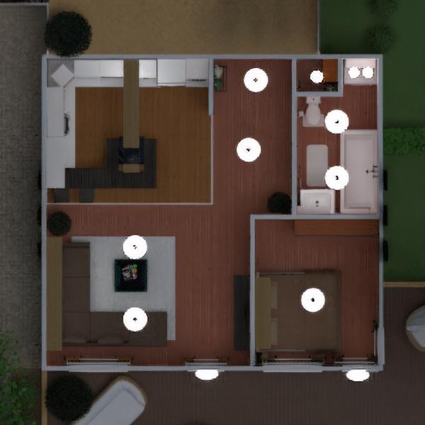 floorplans квартира терраса мебель декор ванная спальня гостиная кухня улица освещение ландшафтный дизайн техника для дома архитектура хранение прихожая 3d