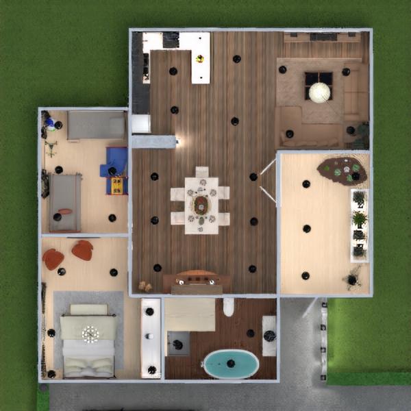 floorplans appartamento arredamento decorazioni bagno saggiorno illuminazione sala pranzo 3d