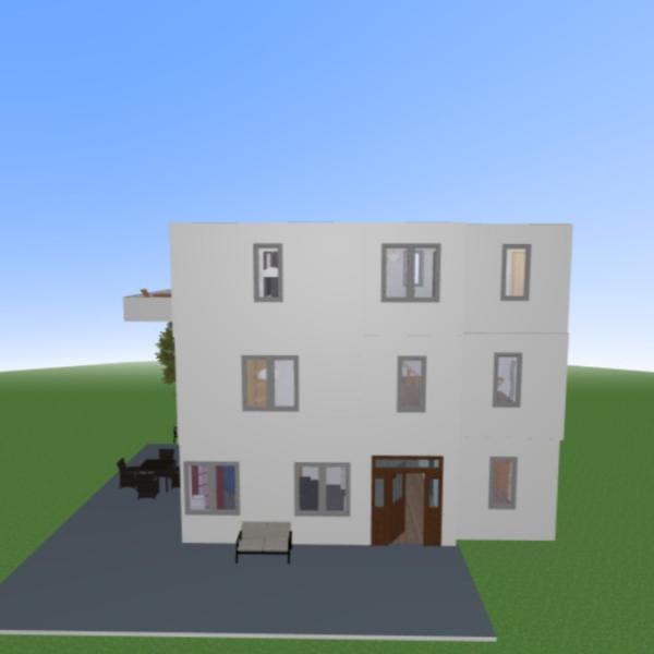floorplans casa paisaje hogar arquitectura 3d