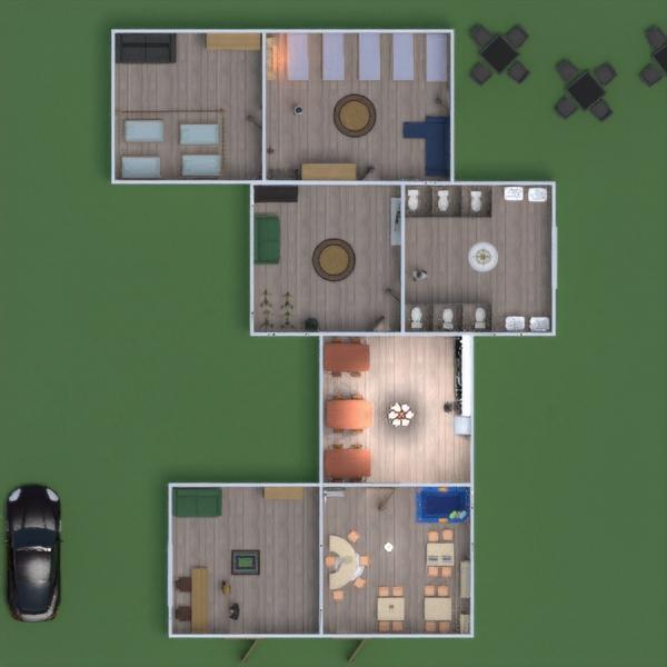 floorplans cuarto de baño dormitorio habitación infantil paisaje cafetería 3d