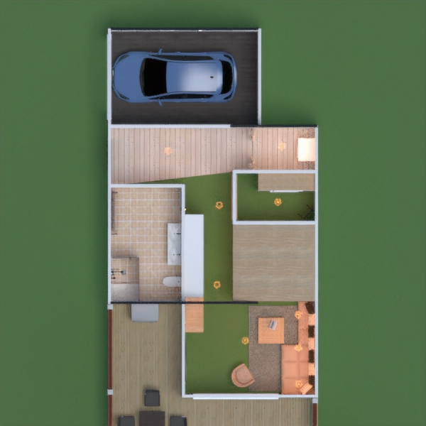 floorplans apartamento casa terraza muebles decoración bricolaje cuarto de baño dormitorio salón garaje cocina exterior iluminación paisaje hogar comedor arquitectura trastero 3d