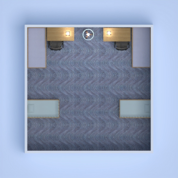 floorplans meubles chambre à coucher chambre d'enfant 3d