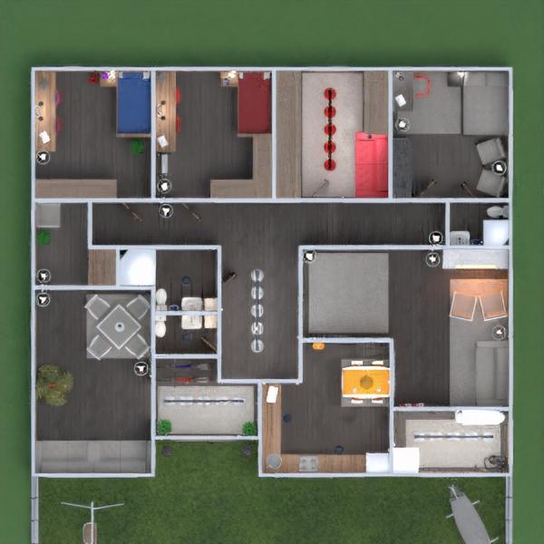 floorplans house furniture diy bedroom kitchen kids room dining room 3d