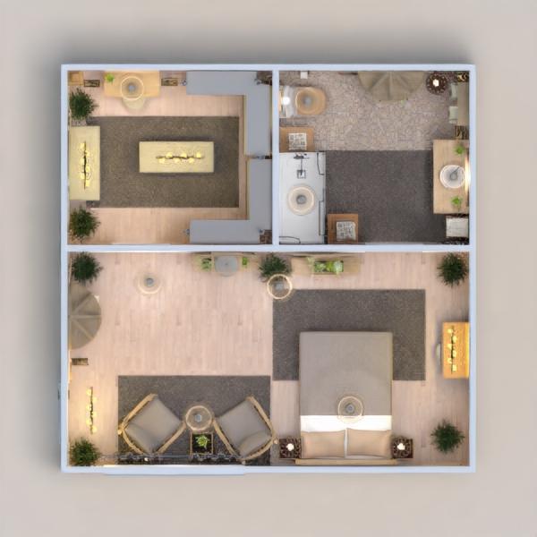 floorplans dom wystrój wnętrz łazienka sypialnia oświetlenie 3d