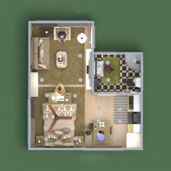 floorplans apartamento estúdio 3d
