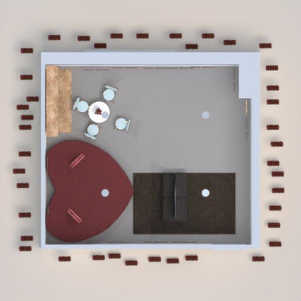 floorplans dom meble sypialnia pokój dzienny jadalnia 3d
