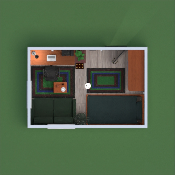 floorplans apartamento dormitorio 3d