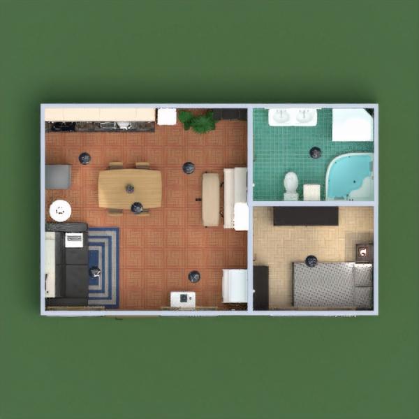 floorplans apartment furniture decor diy bathroom bedroom living room kitchen lighting household dining room storage 3d