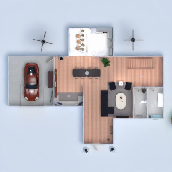floorplans мебель кухня техника для дома столовая прихожая 3d