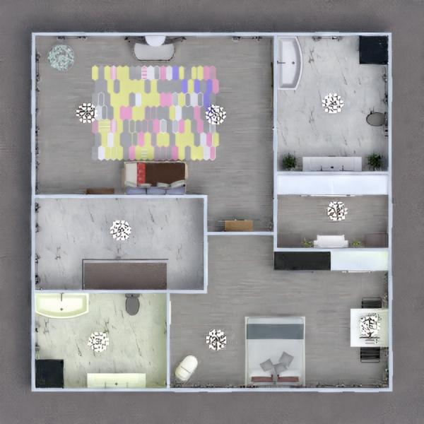 floorplans casa faça você mesmo quarto infantil reforma utensílios domésticos 3d