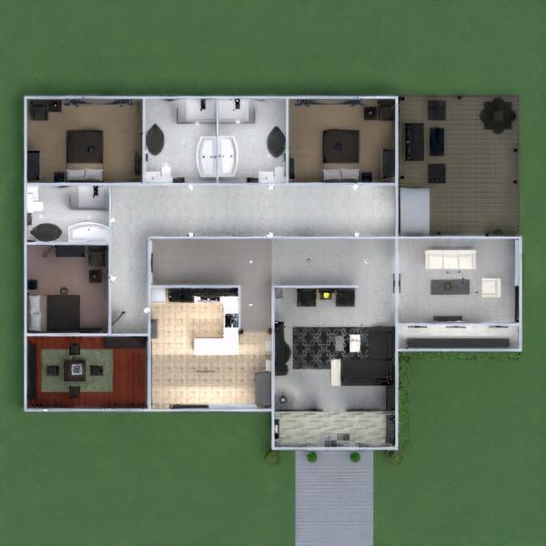 floorplans house furniture decor household 3d